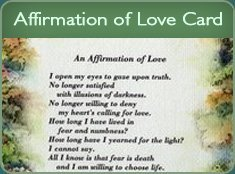 Affirmation of Love Card